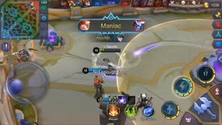 SOLO RANK WITH FANNY, MANIAC + MVP - Sanztify (Mobile Legends) #8