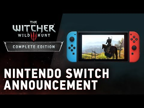 The Witcher 3: Wild Hunt — Complete Edition | Nintendo Switch Announcement thumbnail