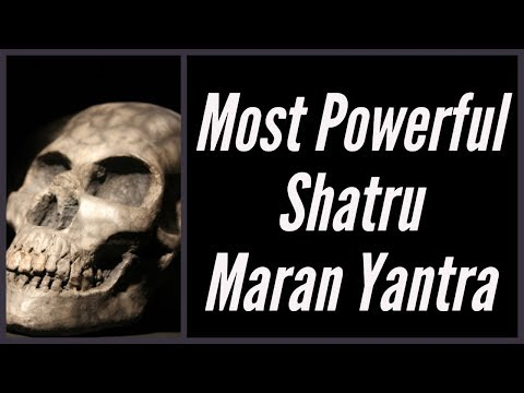 Most Powerful Shatru Maran Yantra - Free video search site