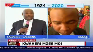 Former Speaker Ole Kaparo: The day Mzee Moi asked police to drive me to his home