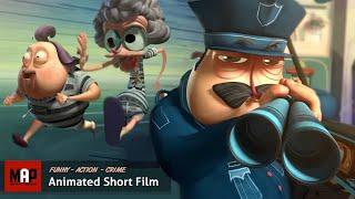 CGI 3d Animated Short Film ** ESCARFACE ** Funny Action Grannies Animation by ESCARFACE / MOPA Team