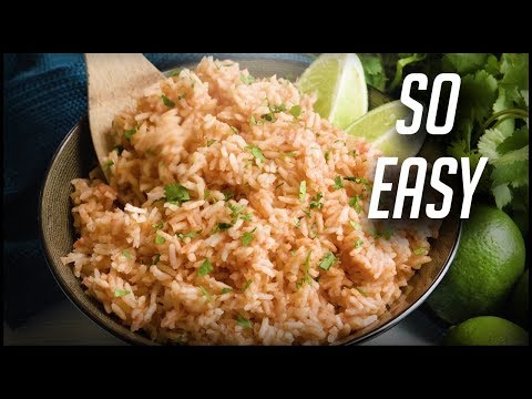 How to Make Easy Spanish Rice | The Stay At Home Chef