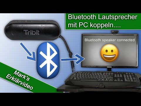 Bluetooth Lautsprecher mit dem PC verbinden