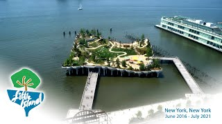 Official 'Little Island' Construction Time-Lapse from EarthCam