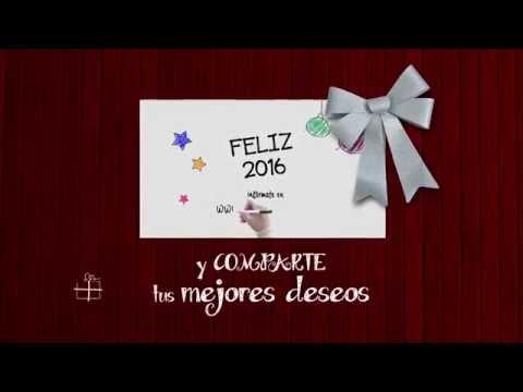 Videos para felicitar la navidad a tus clientes o colaboradores. Estilo Madera