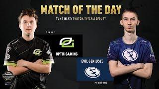Optic Gaming vs Evil Geniuses | CWL Pro League 2019 | Division A | Week 8 | Day 2