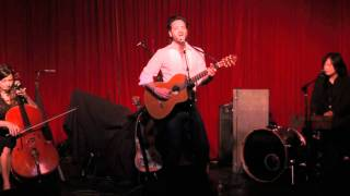 "Adam Cohen performing ""Like A Man"" at Hotel Cafe"