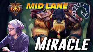 Miracle Earthshaker | MID LANE | Dota 2 Pro Gameplay
