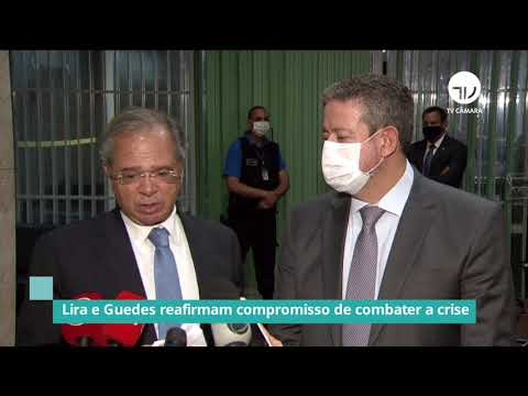Lira e Guedes reafirmam compromisso de combater a crise - 05/02/21
