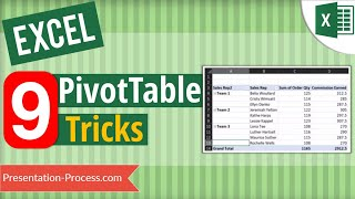 9 Useful Excel Pivot Table Tips everyone should know