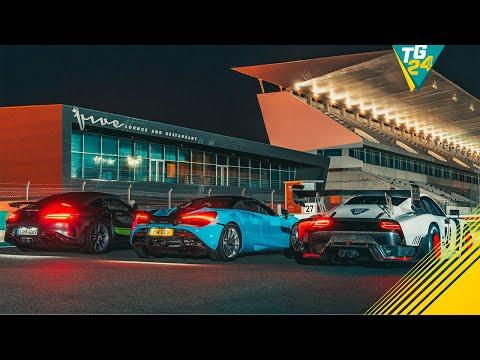 Porsche 935 vs Merc-AMG GT R Pro vs McLaren 720S Spider… at Night   Drag Races   Top Gear
