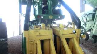preview picture of video 'Close look at John Deere Model '990 COTTON (2-ROW) PICKER''