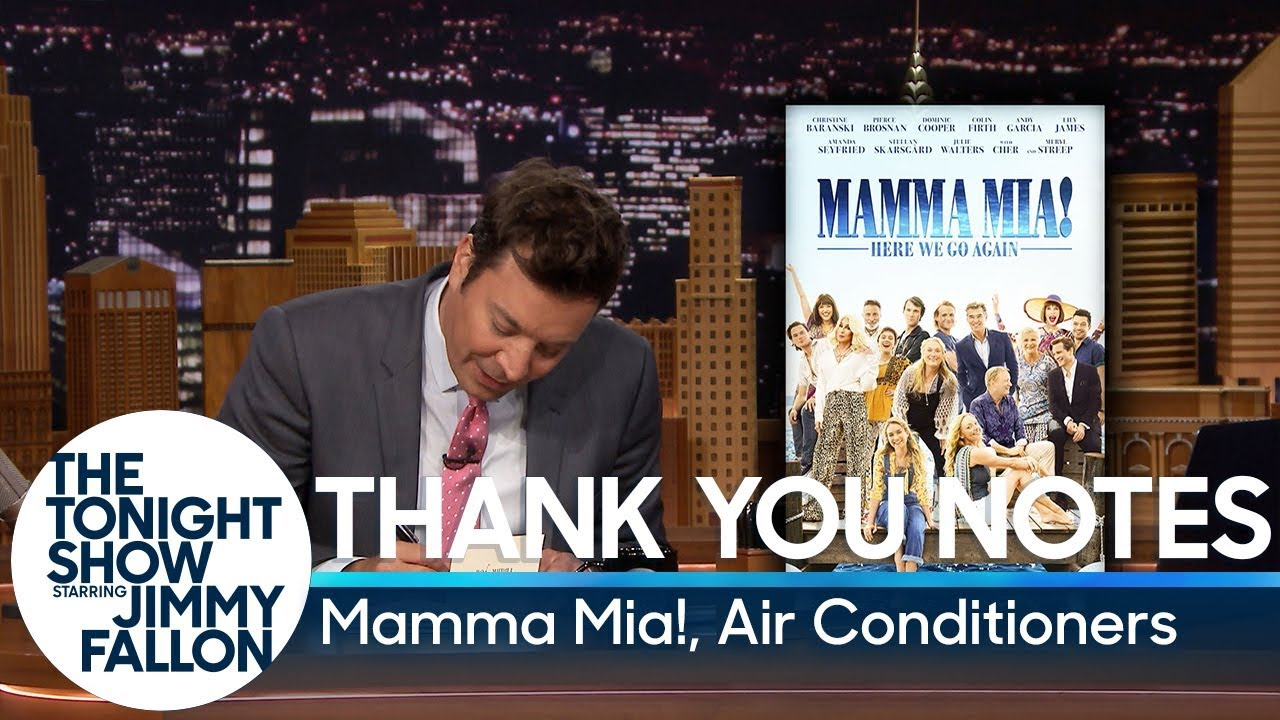 Thank You Notes: Mamma Mia!, Air Conditioners thumbnail