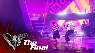 Donel Mangena Performs 'Cold Water': The Final | The Voice UK 2018