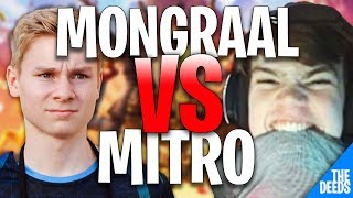 Secret Mongraal 1 VS 1 Atlantis Mitr0 | Creative 1v1 *EPIC ATLANTIS VS SECRET*
