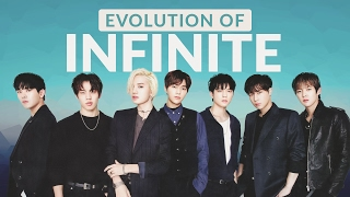 The Evolution of INFINITE (인피니트) - Tribute to K-POP LEGENDS