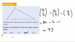 Eğitim Vadisi 10.Sınıf Matematik 3.Föy Sayma ve Olasılık 4 Konu Anlatım Videoları