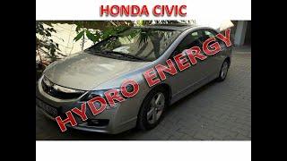 Honda cıvıc 1.6 hidrojen yakıt tasarruf sistem montajı