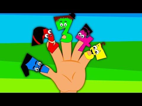 Finger Family | Learn Numbers | Nursery Rhymes & Kids Songs
