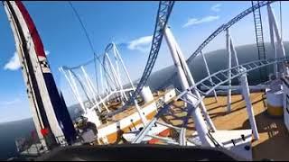 360 VR Hızlı Tiren Coaster  Titanic
