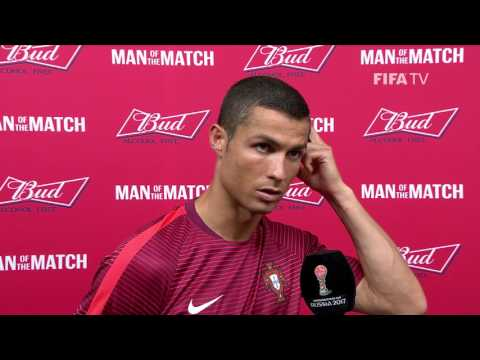 Cristiano Ronaldo: FIFA Man of the Match - Match 2: Portugal v Mexico
