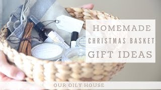Homemade Christmas Gift Basket | Simple Gift Ideas