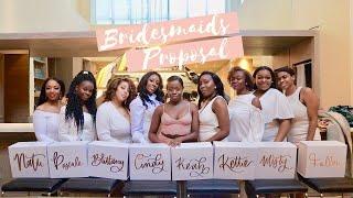 Amazing Bridesmaid Proposal Brunch