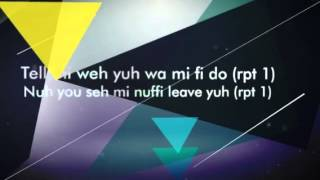 Vybz Kartel  Come Back Home (LYRICS)