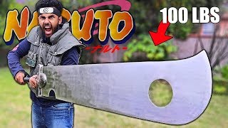"""NARUTO WEAPONS In Real Life """"ZABUZA'S LEGENDARY BLADE"""" (It Took Me 2 Years To Find This Thing)"""