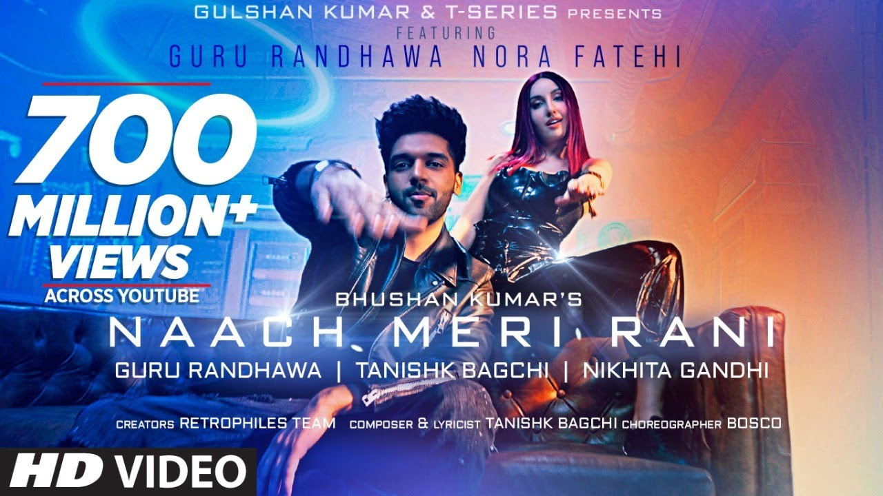 Naach Meri Rani in Hindi| Guru Randhawa & Nikhita Gandhi Lyrics