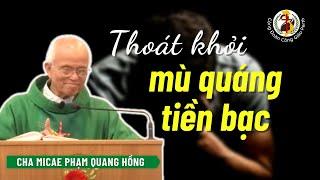 Cảnh báo: thoát khỏi mù quáng về tiền bạc ❌ Cha Phạm Quang Hồng