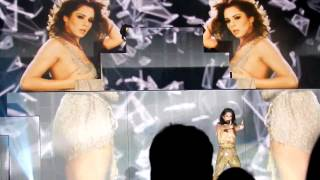 Girl In The Mirror screen visuals @ O2 Arena, Cheryl Cole A Million Lights Tour