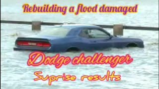 Rebuilding a flood damaged dodge challenger from Copart auction