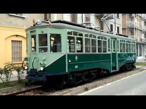 Il tram storico a Limbiate