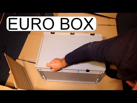 UNBOXING EURO BOX 600x400x320