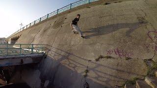 Suicide Wall Run