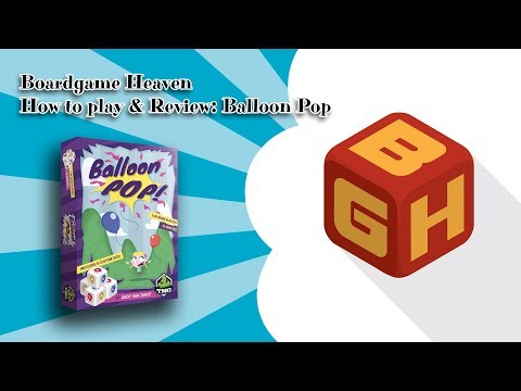 Boardgame Heaven How To Play & Review: Balloon Pop