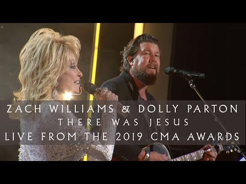 "Zach Williams and Dolly Parton - ""There Was Jesus"" (Live from the 2019 CMA Awards)"