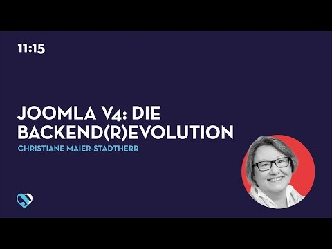 JD19DE - Joomla V4: Die Backend(r)evolution