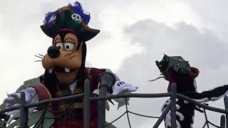 ★海賊グーフィーポジ スプーキーBooパレード!★9/12 1st 1回目