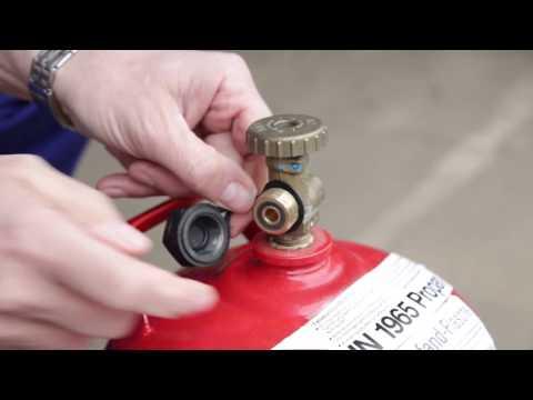 Sieben goldene Regeln - Der sichere Umgang mit Flaschengas