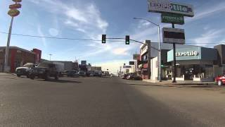 preview picture of video 'Driving through downtown San Luis Rio Colorado, Mexico, 2 December 2013, Sonora, GP010042'