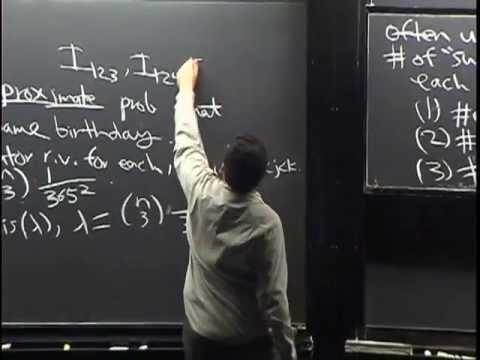 Lecture 11: The Poisson distribution | Statistics 110