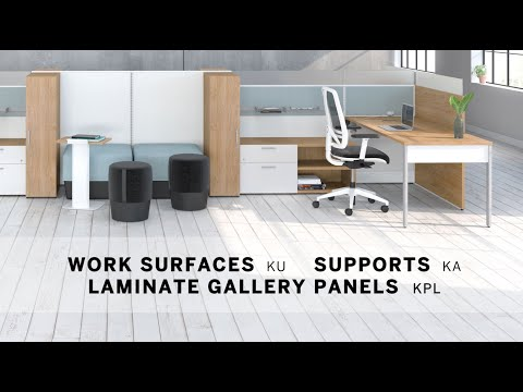 Installation video 6 - Work surfaces and supports