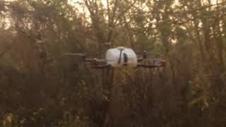 Home build fpv drone test flight - Test flying a home made drone - DIY - DJI Naza M-Lite comne