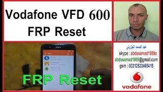 Vodafone Vfd 600 Frp Reset Google Account Remove