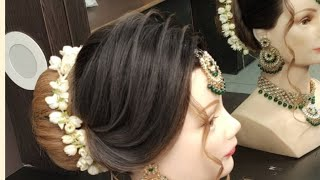 LATEST INDIAN BRIDAL HAIRSTYLE || TUTORIAL