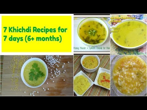 Part 1 6 to 8 months baby food recipes stage 1 stage 2 baby food homemade baby food recipes 7 khichdi recipes for babies kids play forumfinder Image collections
