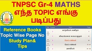 TNPSC Maths Syllabus, Topic Wise Study Plan | TNPSC Group-4/CCSE-IV 2019