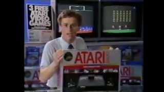 1982 Free Atari Video Games Commercial
